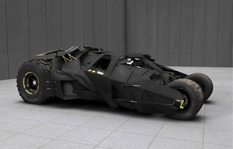 The-Dark-Knight-Batman-Car-3D-Wallpaper