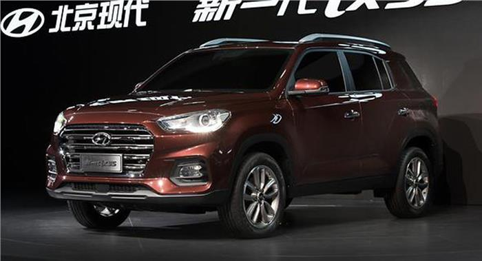 Hyundai Launches The ix35 Compact SUV On The Shanghai Auto Show