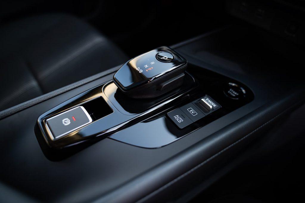 2021 Nissan Note gear selector floor console