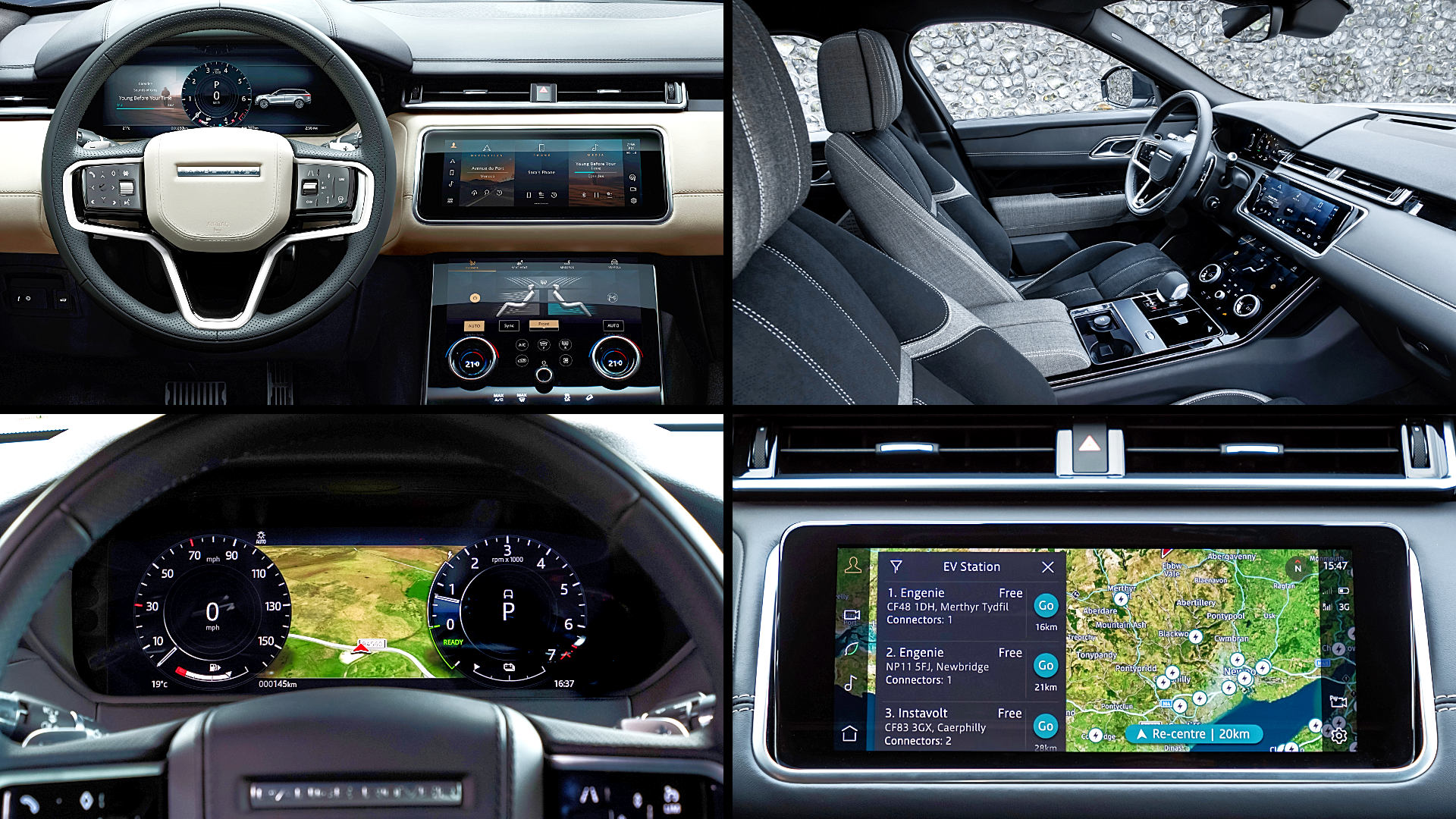 2021 range rover velar r dynamic interior