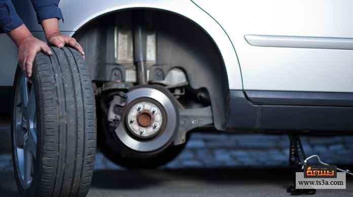كيفية تغيير اطار السيارة (الكاوتش)