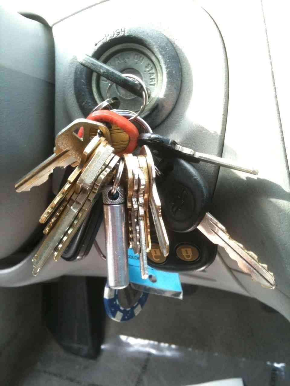 ميدالية مفاتيح ثقيلة جدا